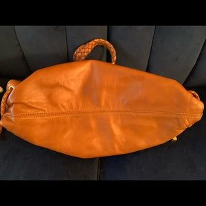 Michael Kors Bags - $398 Michael Kors WOODSIDE Satchel Purse Saddle